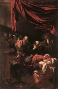 Death Of The Virgin – Michelangelo Caravaggio