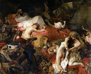 Death Of Sardanapalis – Eugene Delacroix