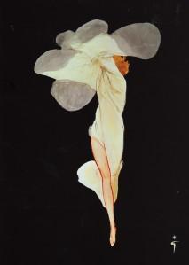renc3a9-gruau-flower-woman