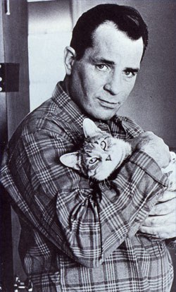 Kerouac, kitty lover