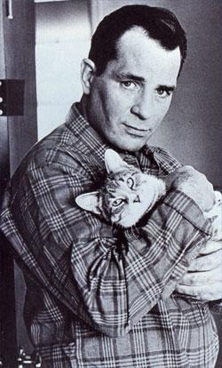 Kerouac, kitty lover