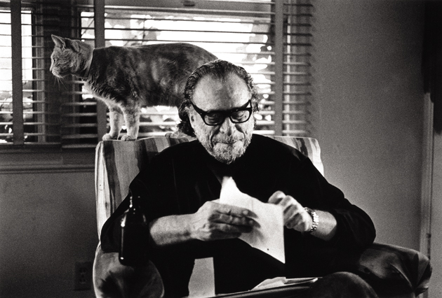 Bukowski and furry friend