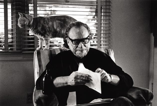 Bukowski and furry friend
