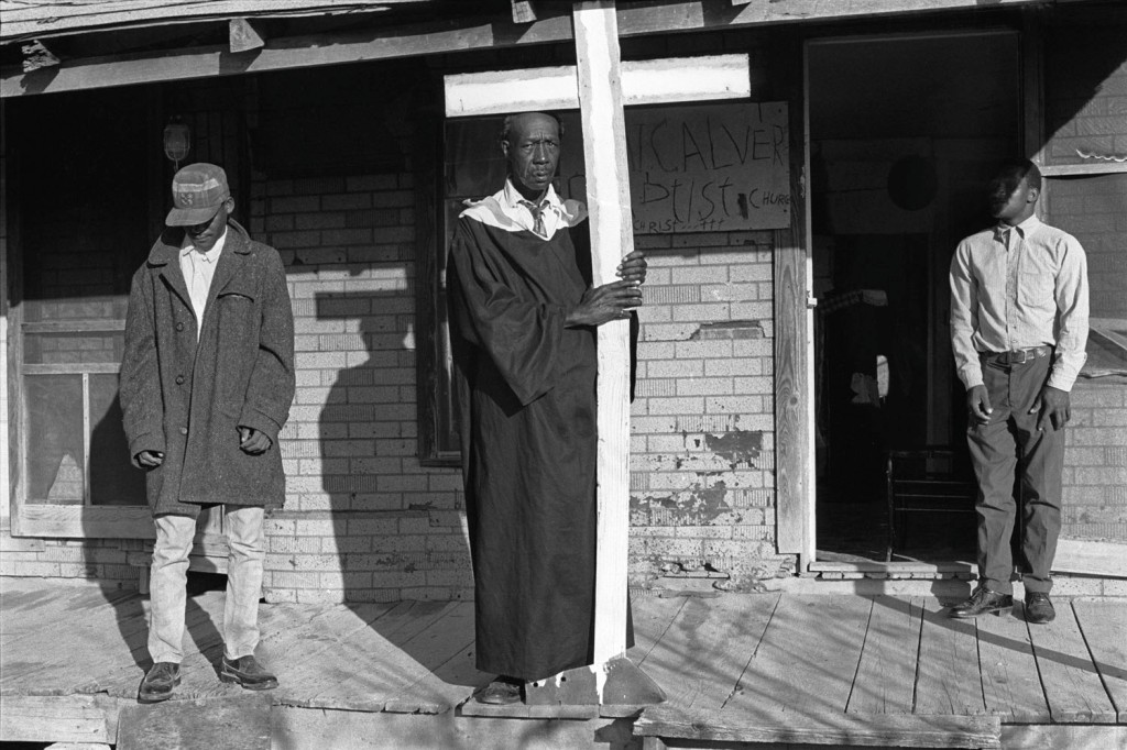 Mount Calver Baptist Church of Christ, Hughes, AR, 1969